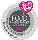 Highly commended food photography award