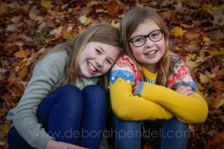portrait photography of two girls in essex